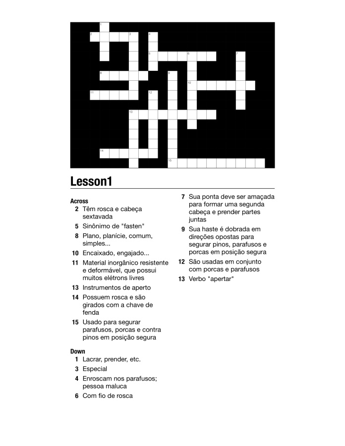 Crossword-L1